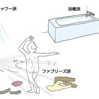 シャワー派,浴槽派,それともFB派?