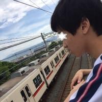 公園から山陽電車が丸見え!!