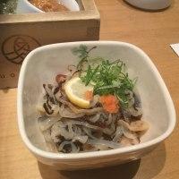 彦根駅前『魚丸』のお品書き。