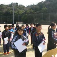第6回小学生マラソン大会を開催しました