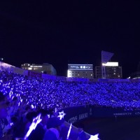 5月23日 対中日戦 BLUE ⭐️LIGHT SERIES 2017
