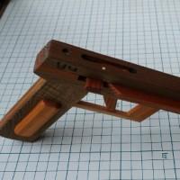 横掛けゴム銃の制作(サウスポー用)