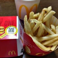 「マック」ディナー・・・体がだるくても「作るよりは楽かも~」とマクドナルドへ(^^)