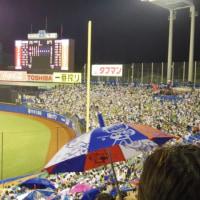 きょうは神宮球場に....(東京ヤクルト12-3広島)