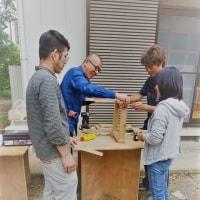 廃材利用インテリ椅子(神大)