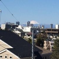 冬は富士山