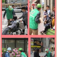 2017.6.23広島・広島 平和大通り周辺で171PR・清掃活動