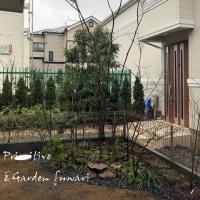 庭づくりが待ち遠しい 調布市I邸の庭づくり