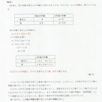 大日本図書教科書『新版 たのしい算数5』の教科書の「算数たまてばこ」 ~「何年後かな」について自由に