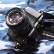 OLYMPUS OM-D E-M5とCANON NFD 50mm F1.4