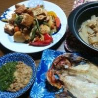2月27日(月)根菜の炒め煮