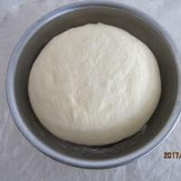 「はるゆたか」と「スーパーバイオレット」で焼いたpain au lait (牛乳パン)