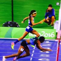 アリソンフェリックス惜しくも銀メダル 400m