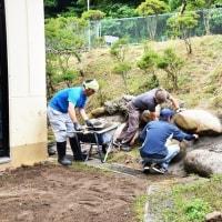 松筑建設労働組合生坂班「6.25住宅デー」の奉仕活動