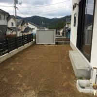 庭の大改造計画