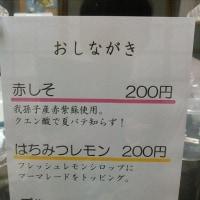 七草かき氷店、明日プレオープン!