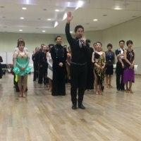 社交ダンス:初競技会