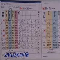 今日のゴルフ挑戦記(103)/東名厚木CC ウエスト→アウト(A)