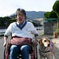 介助犬もっと知って 身障者の生活サポート