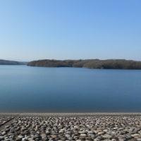 狭山湖畔で