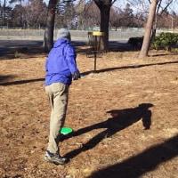 ディスクゴルフのラウンドを再開できた(^^)v