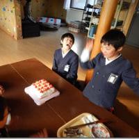 ▲児童クラブれんこん村は、お誕生会