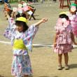 保育園の夏祭り。