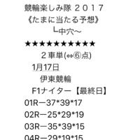 1/17 伊東競輪 F1 ナイター最終日