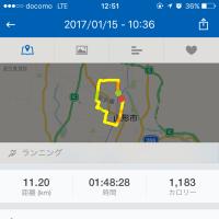 ジョギング記録・25