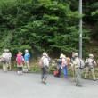 2 可部冠山(736m:安佐北区)登山  参加者の確認を