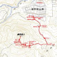 藤野富士のGPSトラック