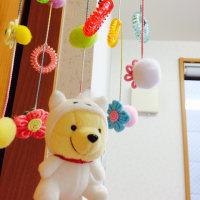赤ちゃんの吊るし飾り