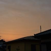 10月28日、午前6時過ぎの空模様