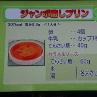 フライパンで作るジャンボ蒸しプリン