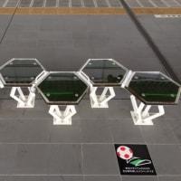 浦和駅ホームのベンチ