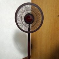新しい扇風機を買いました