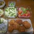 野菜尽くしの夕食