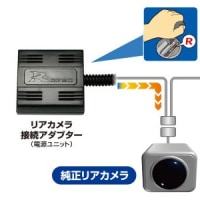 日産メーカーオプションのアラウンドビューモニター映像をナビに表示させる