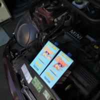 ミニR50の車検のお手伝い、続き