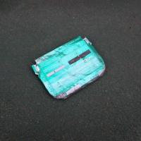 たばこの空箱1個、収集 レジ袋でゴミ拾い&街美化と安全パトロール