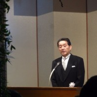㈱ホテルグランド東雲「創業50周年つくばで40周年 感謝の集い」に出席しました。