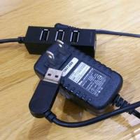 USBポートも雷により故障か・・・
