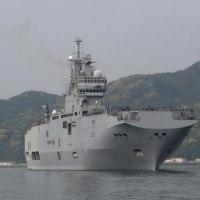 仏軍艦艇が佐世保入港、日米英と初の4カ国共同訓練へ