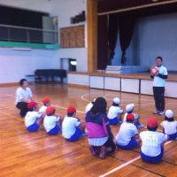 足立区青井小学校の支援級でリングビー!
