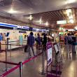 新千歳空港のANA団体受付カウンターで待ち合わせ(都市対抗の応援 その2)