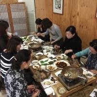 『新開ミヤ子と行く韓流美膳の旅』栗三昧でスタート!