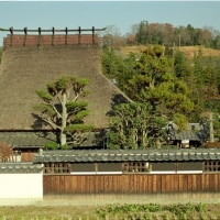 日本茅葺紀行 NO,375 塀のある家