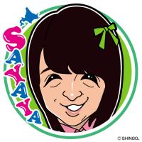 川本紗矢さんの似顔絵。