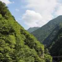 緑の御手洗渓谷 奈良天川村