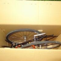 自転車旅~輸送用箱作り